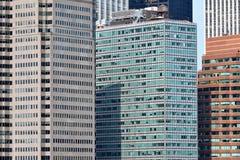 Modern Business Office Buildings. In Manhattan, New York City Stock Photos