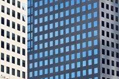 Modern Business Office Buildings. Reflecting, New York City, USA Stock Photo