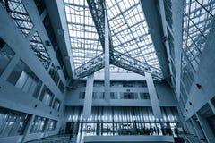 Modern business office hall interior Stock Image