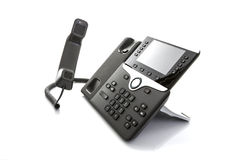 Modern Business Office IP Telephone royalty free stock photos