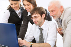 Modern business people Royalty Free Stock Photography