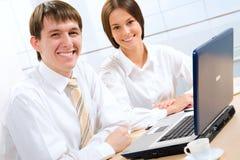 Modern business people Stock Photo