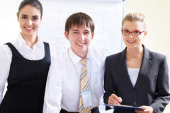 Modern business people Royalty Free Stock Image