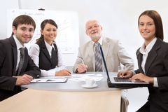 Modern business people Stock Image