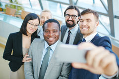 Modern business people Stock Photography
