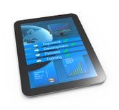 Modern business reportModern business analysis Stock Image