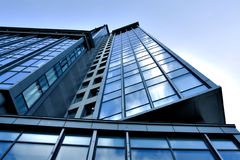 Modern business skyscraper. Perspective view Stock Photo