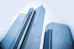 Modern business skyscrapers Royalty Free Stock Image