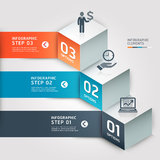 Modern Business step options. Stock Images