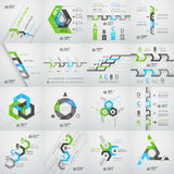 Modern business step origami style options banner. Vector illustration Royalty Free Stock Photo