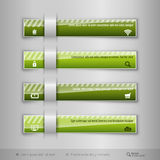 Modern business tabs - infographics - template for web design or Royalty Free Stock Image