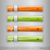 Modern business tabs - infographics - template for web design or Royalty Free Stock Photo