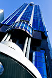 Modern business tower. Over bright sky Royalty Free Stock Images