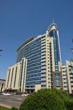 Modern business tower in Astana Royalty Free Stock Images