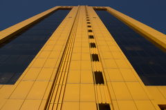 A modern business tower in Astana Royalty Free Stock Photo