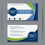 Business visiting card vector design template Stock Images