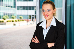 Modern business woman Stock Photo