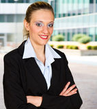 Modern business woman Stock Photography