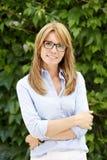Modern business woman portait Royalty Free Stock Photos