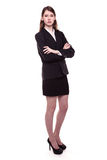 Modern Business Woman / Student Royalty Free Stock Image