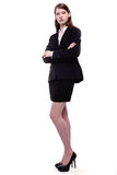 Modern Business Woman / Student Stock Image