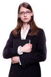 Modern Business Woman / Student Royalty Free Stock Photos