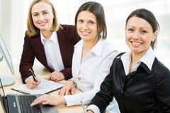 Modern business women Stock Image