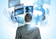 Modern Business World Stock Photo