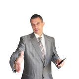 The modern businessman stock images
