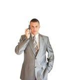 The modern businessman stock photo