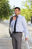 Modern businessman Stock Photo