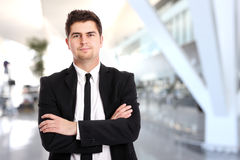 Modern businessman Stock Image