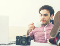 Modern businessman Royalty Free Stock Images