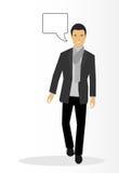 Modern businessman Stock Images