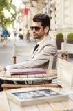 Modern businessman portrait Stock Image