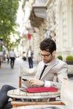 Modern businessman portrait Royalty Free Stock Images