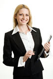 Modern businesswoman Royalty Free Stock Image