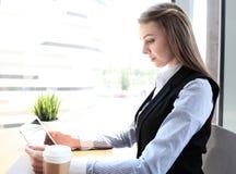 Modern businesswoman Royalty Free Stock Image