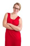 Modern businesswoman with glasses Stock Photography