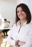 Modern businesswoman at her office Stock Photo