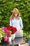 Modern businesswoman Stock Photos
