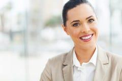 Modern businesswoman office Stock Photo