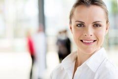 Modern businesswoman office Royalty Free Stock Photos