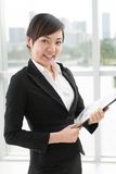 Modern businesswoman Royalty Free Stock Images