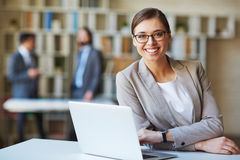 Modern businesswoman Royalty Free Stock Photography