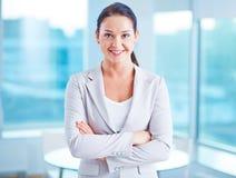 Modern businesswoman Royalty Free Stock Photo