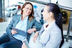 Modern businesswomen Stock Image
