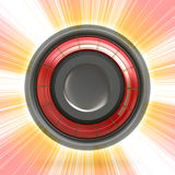 Modern Button or Icon Royalty Free Stock Photography