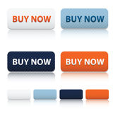 Modern buy now and blank icon template Stock Photo