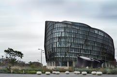 Modern byggande arhitecture i Manchester arkivfoton